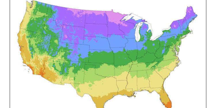 Map Of Canada Hardiness Zones.History Of Usda Hardiness Zones Weekend Gardener