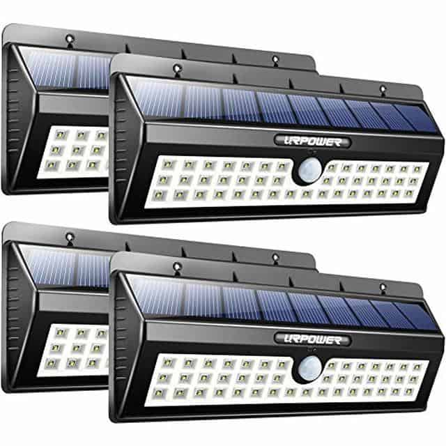 URPOWER Motion Sensor Outdoor Solar Lights