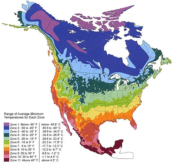 Map Of Canada Climate Zones.Climate Zones Maps Headphones Lab