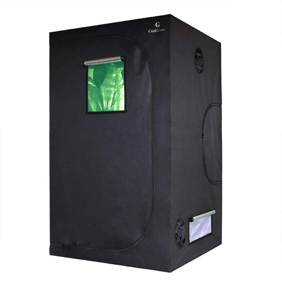 "CoolGrows 48""x48""x80"" Indoor Mylar Hydroponics Grow Tent"