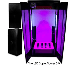 Supercloset Grow Box LED SuperFlower 3.0 LED Grow Cabinet Hydroponics System