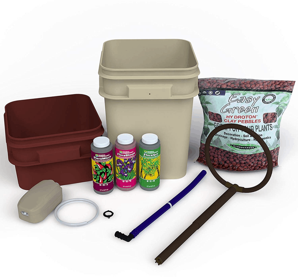 General Hydroponics Waterfarm Complete Hydroponic System Grow Kit GH4120