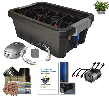 H2OtoGro 04063.75TF DWC Self Watering Hydroponic System