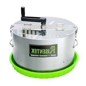 Risentek Bud Leaf Trimmer Machine 16-inch Hydroponic Bowl Trim Model X
