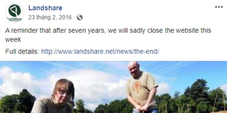 what happened to landshare