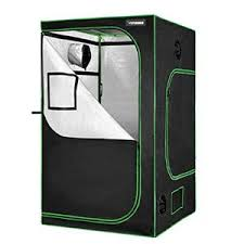 "VIVOSUN 48""x48""x80"" Mylar Hydroponic Grow Tent with Observation Window and Floor Tray for Indoor Plant Growing"