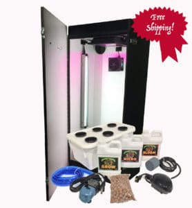 Cash Crop 6.0-2 Plant LED Hydroponics Grow Box