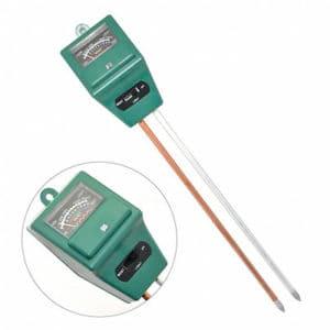 iKKEGOL 3 in 1 Water Moisture PH Soil Analyzer Tester Tool